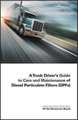 Truck Driver's Guide to Care and Maintenance of Diesel Particulate Filters (DPFs) Cover page